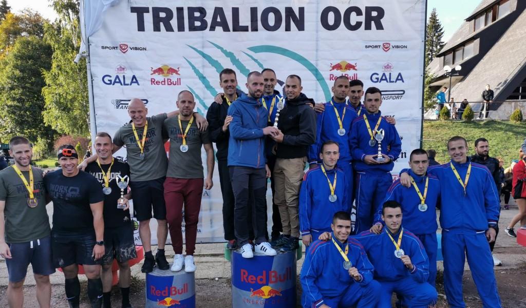 Нови успех екипе војних вишебојаца Војне академије у планинском трчању са препрекама ''Tribalion''