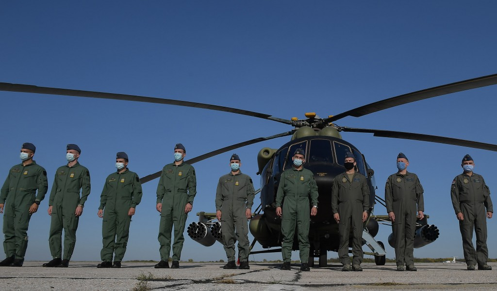 Minister Vulin: Our helicopter pilots will learn everything they need to know at the Military Academy