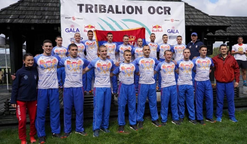 Победнички пехари за вишебојце Војне академије у планинском трчању са препрекама ''Tribalion OCR''