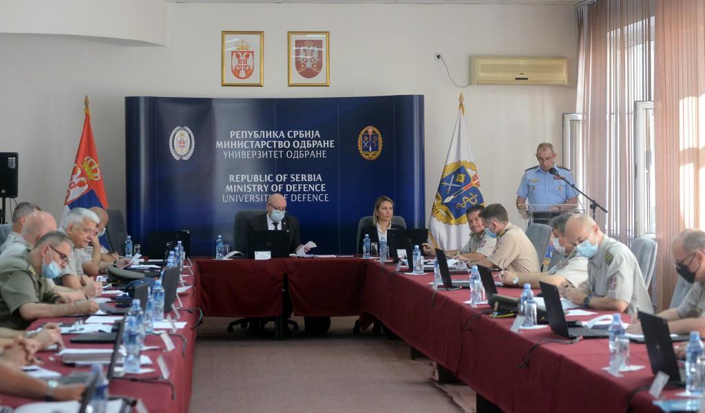 "Expert meeting on ""Development of Military Education"" held"