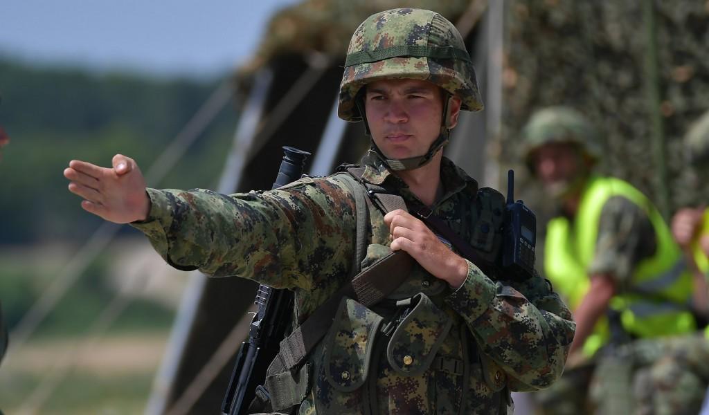Завршна вежба кадета Војне академије