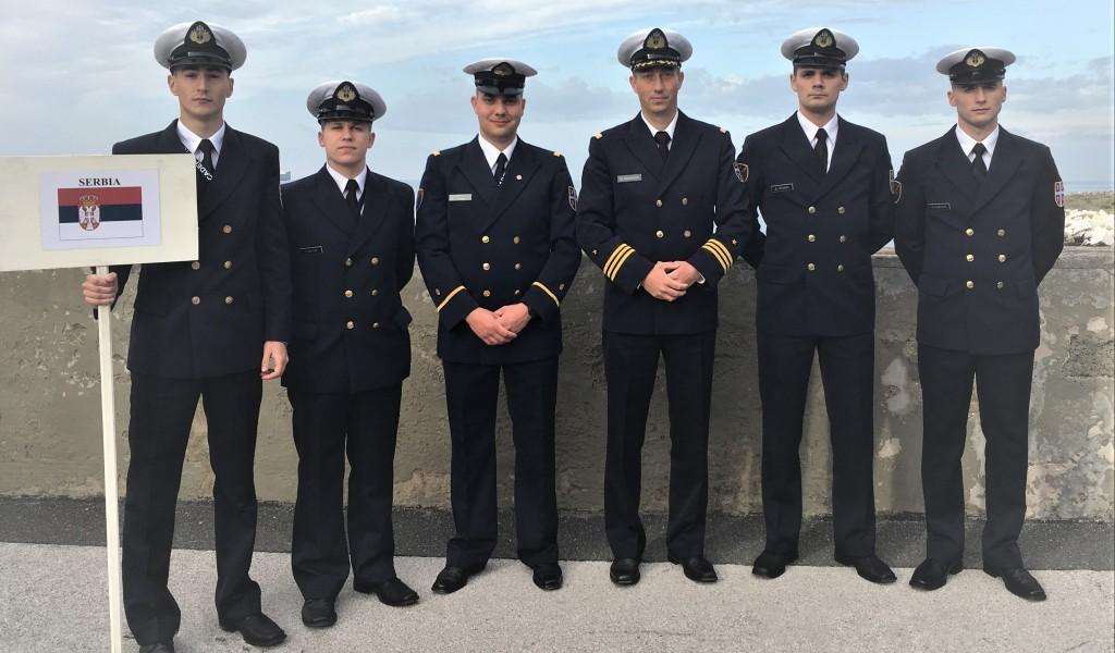 Учешће кадета Војне академије на регати у Ливорну у Републици Италији