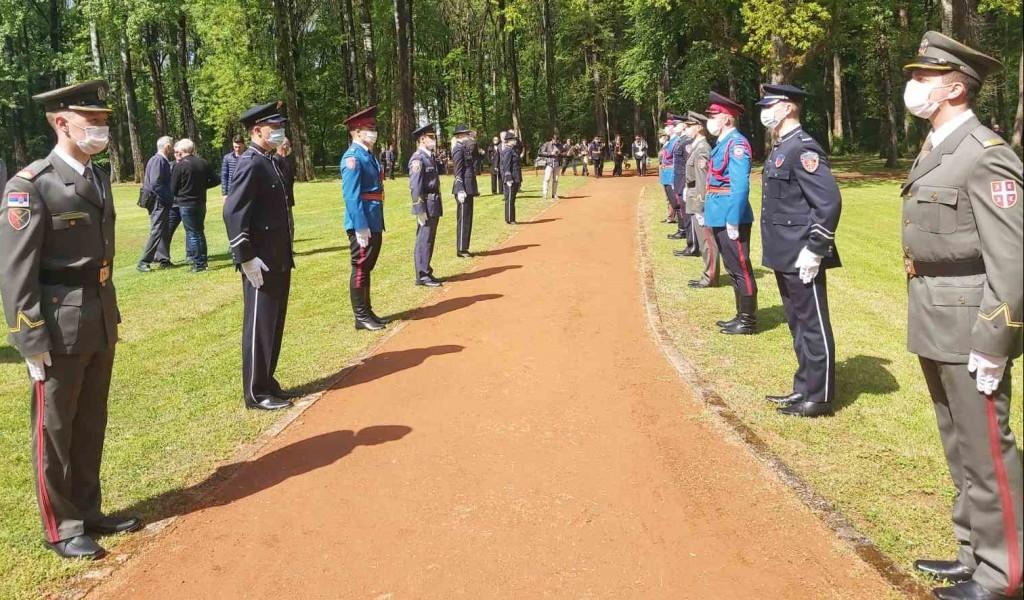 Учешће кадета Војне академије на обележавању Дана сећања у Доњој Градини