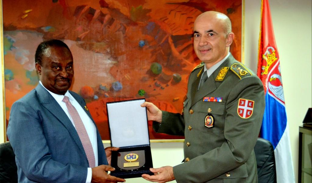 Посета делегације Републике Анголе Војној академији
