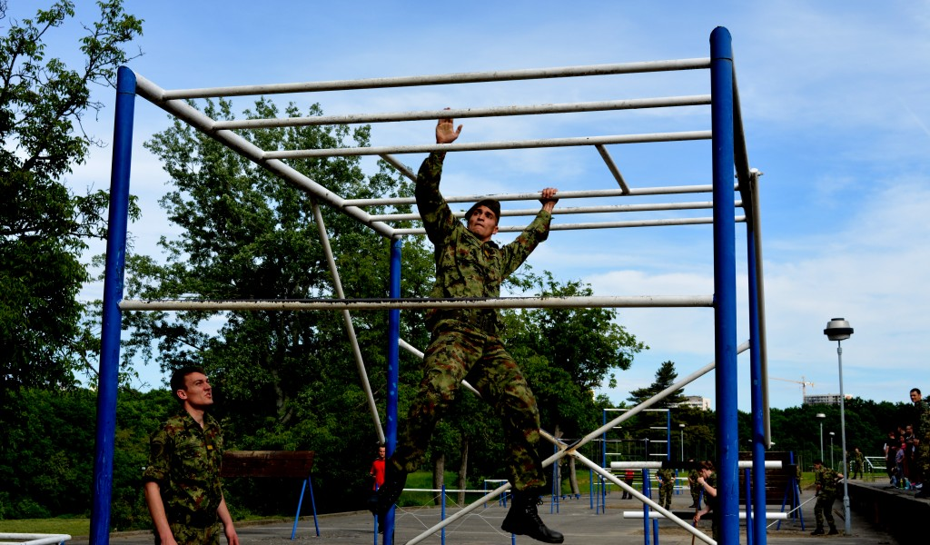 Пролећно спортско првенство Војне академије у војном вишебоју
