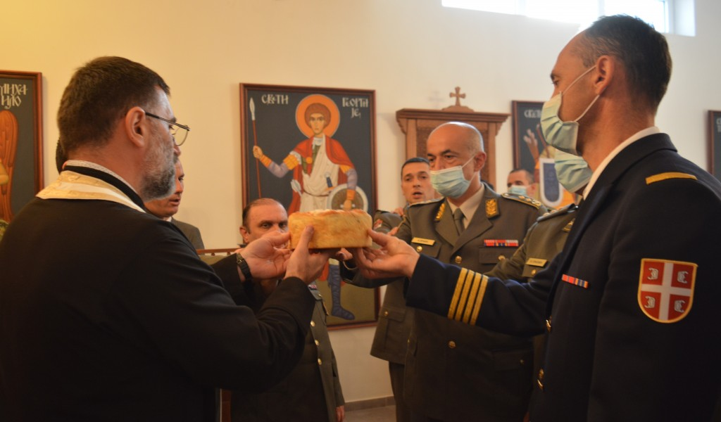 Church holiday of the Military Academy marked