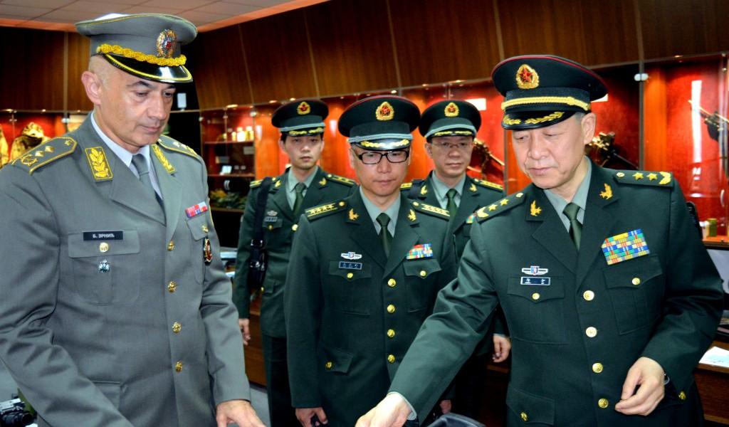 Посета Кинеске делегације Војној академији