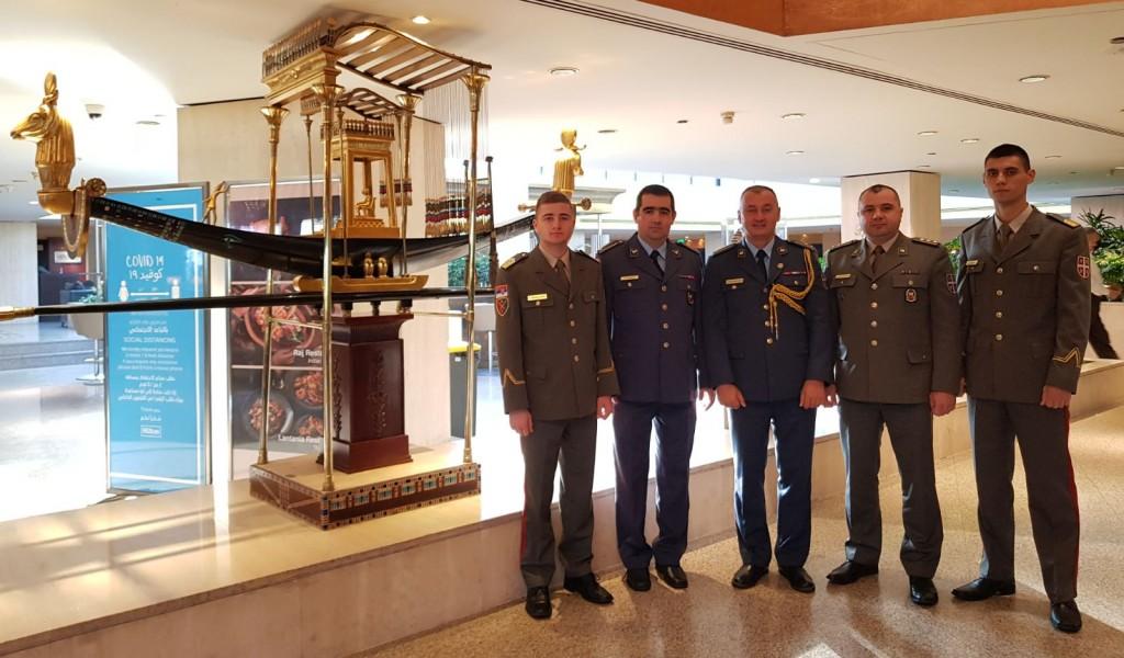 Промоција кадета оружаних снага Арапске републике Египат