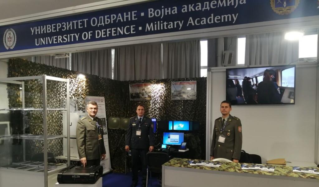 """Војна академија на Међународном сајму наоружања и војне опреме """"Партнер 2021"""""""