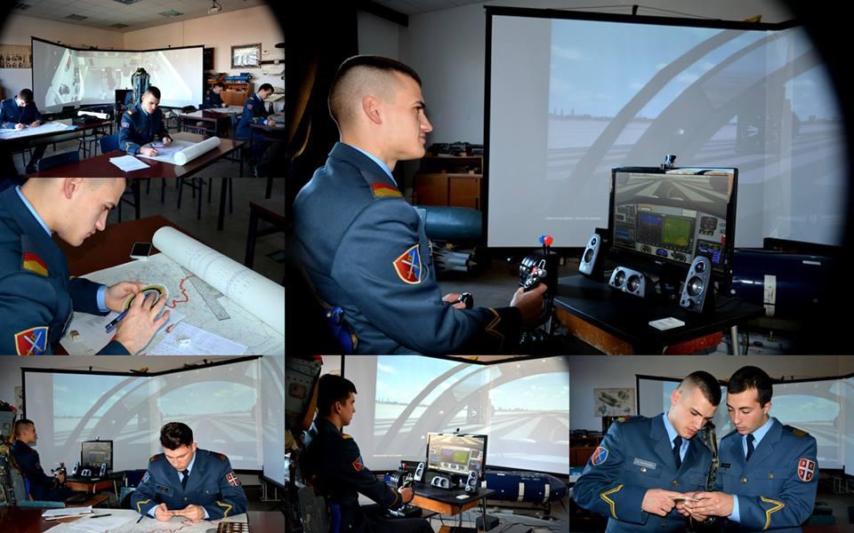 Обука кадета студијског програма Војно ваздухопловство