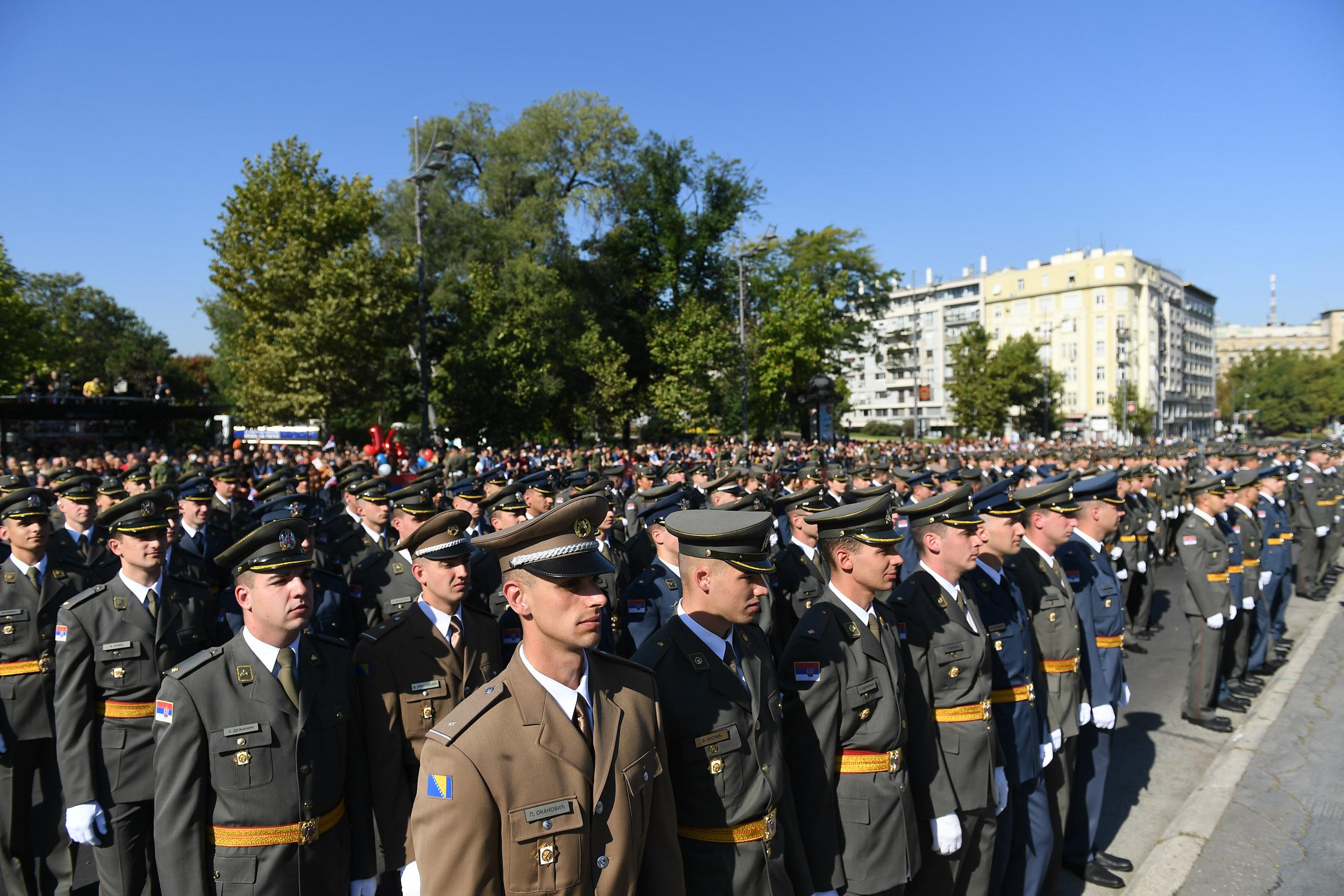 Промовисани најмлађи официри Војске Србије