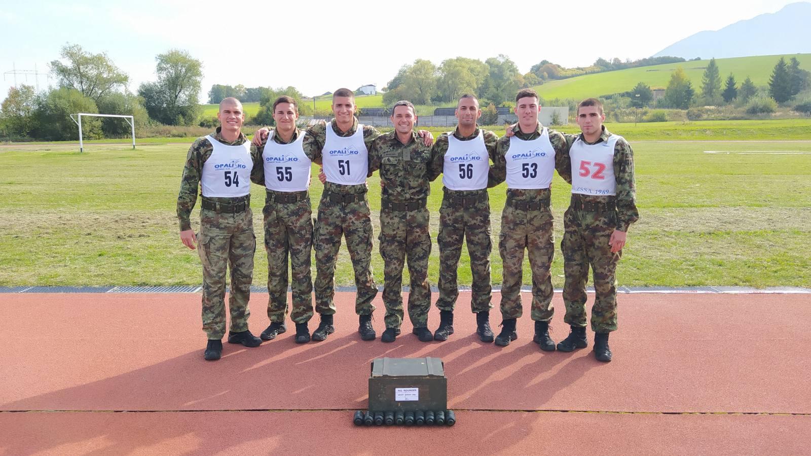 """Екипа Војне академије трeћепласирана на Међународном такмичењу """"All Rounder 2021"""""""